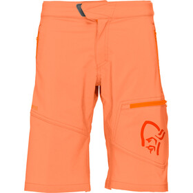 Norrøna Junior /29 Flex1 Shorts Orange Alert